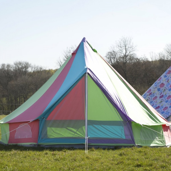 5m Rainbow Bell Tent With Zipped in Ground Sheet