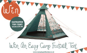Win an Easy Camp Festival Tipi Tent