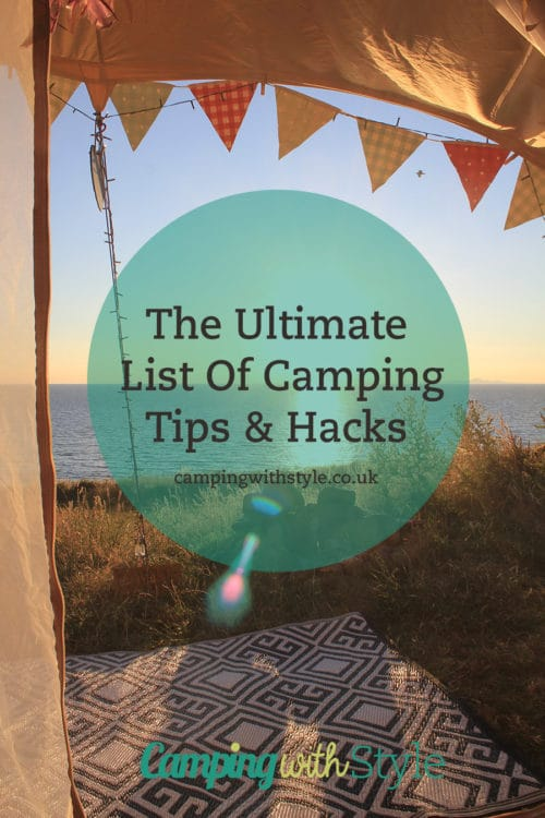 Ultimate Camping Tips & Hacks