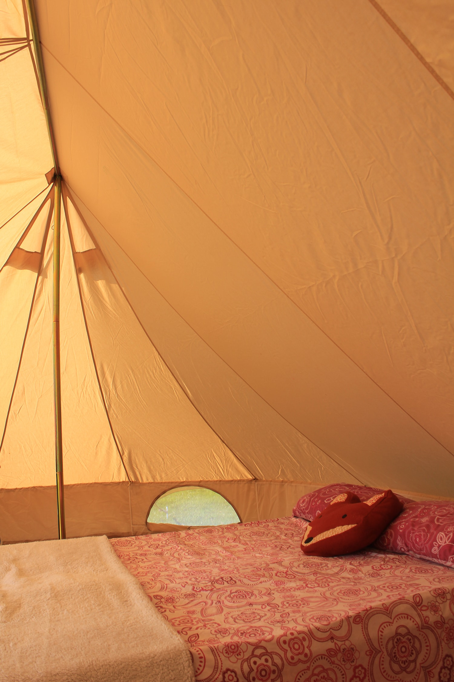 Emperor star bell tent from Boutique Camping review